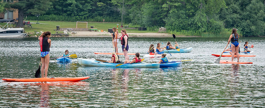 Camp Taconic, Lake Ashmere Massachusetts - Our Activities